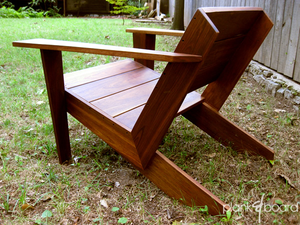 Woodworking Plans Modern Adirondack Chair Design PDF Plans