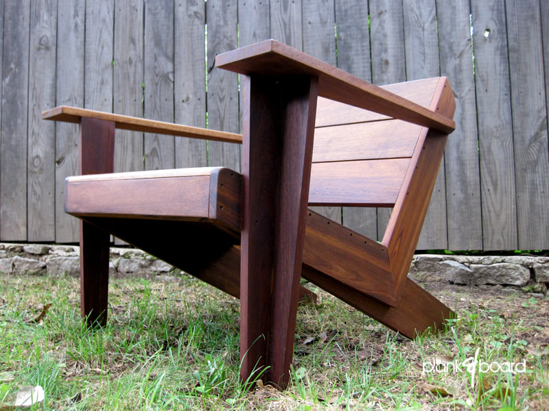 Substantial Outdoor Furniture. ModArondack. A Modern Take On The Classic  Adirondack Chair